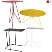 Набор журнальных столов. Miniforms LINK. IKEA РИАН