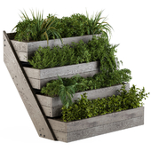 Outdoor Plants Box Wooden