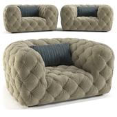 armchair Chester Moon 1350