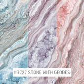 Creativille | Wallpapers | 3727 Stone with geodes