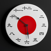 Japanese Wallclock