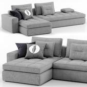Lounge sofa - Calligaris