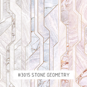 Creativille | Wallpapers | 3015 stone geometry