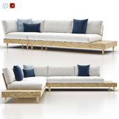 Portside Outdoor Low Sectional