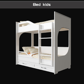 Кровать детская двухуровневая