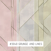 Creativille | Wallpapers | 3040 Grunge and Lines