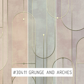 Creativille | Wallpapers | 304110 Grunge and Arches
