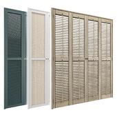 Shutters & Wardrobe Doors Set