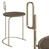 Handle Side Table by De La Espada