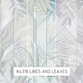 Creativille | Wallpapers | 4310 Lines and Leaves