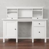 IKEA Стол с дополнительным модулем HEMNES (ИКЕА ХЕМНЭС)