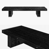 Grid Bench by Mario Tsai