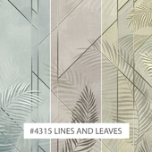 Creativille | Wallpapers | 4315 Lines and Leaves