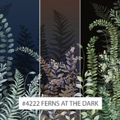 Creativille | Wallpapers | 4222 Ferns at the dark