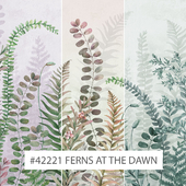Creativille | Wallpapers |  42221 Ferns at the Dawn
