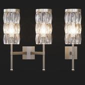 Tigermoth lighting - Stem wall light with crystal