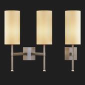 Tigermoth lighting - Stem wall light with silk