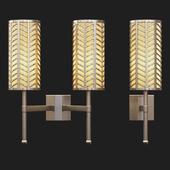 Tigermoth lighting - Stem wall light with lattice