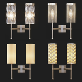 Tigermoth lighting - Stem double sconces collection