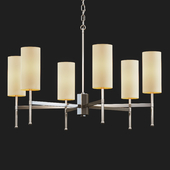 Tigermoth lighting - Stem chandelier with silk