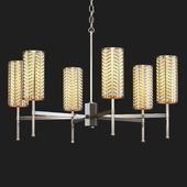 Tigermoth lighting - Stem chandelier with lattice