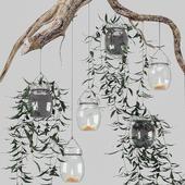 Сascading chandelier