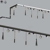 5 Ceiling Track light Project