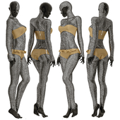 mannequin in crystals n01