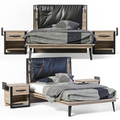 Cilek Wood Metal Line Bed