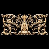 Классический резной декор резьба в стиле барокко