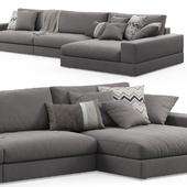 Vision Corner Sofa (Truman) by Doimo Salotti