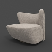 Brazilian Lounge Chair by Juliana Lima Vasconcellos and Matheus Barreto