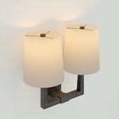 Ojai Large Double Sconce DESIGNER: BARBARA BARRY