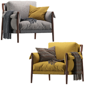 Times Lounge by Poltrona Frau armchair