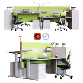 Steelcase - Office Table Ology Work Space