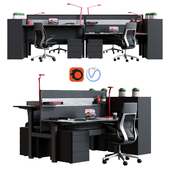 Steelcase - Office Table Ology Bench Work Space