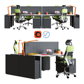 Steelcase - Office Table FrameOne Work Space