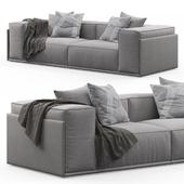 Roland 2-seat Sofa by Doimo Salotti