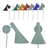 Wall lamp AJ Louis Poulsen by Arne Jacobsen