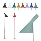 Floor lamp  AJ  Louis Poulsen by Arne Jacobsen