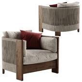 West Elm Porto armchair