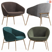 Love Swivelling Armchair Calligaris