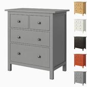 IKEA HEMNES 4-drawer chest