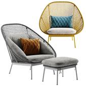 West Elm Paradise armchair
