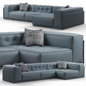 Glamour Corner Sofa by Doimo Salotti