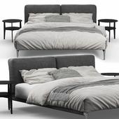 Adda Bed by Flexform