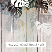 Creativille | Wallpapers | 42441 Monstera Leaves