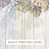 Creativille | Wallpapers | 42442 Monstera Leaves