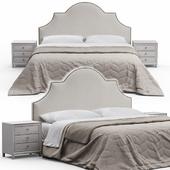 Sedgefield King Upholstered Bed