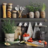 Decorative kitchen set 02